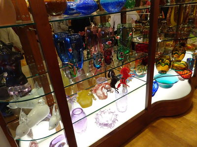 murano glass shop venice
